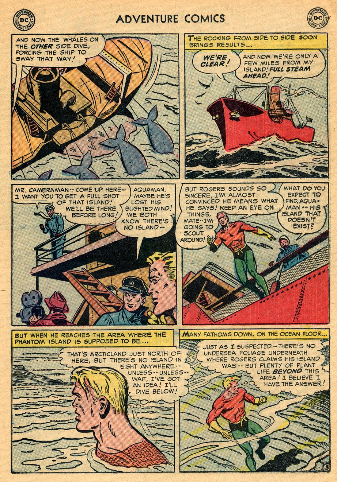 Read online Adventure Comics (1938) comic -  Issue #209 - 19