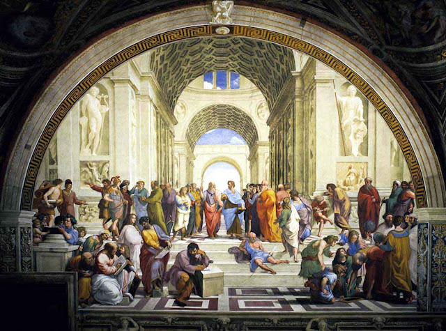 A Escola de Atenas Raphael