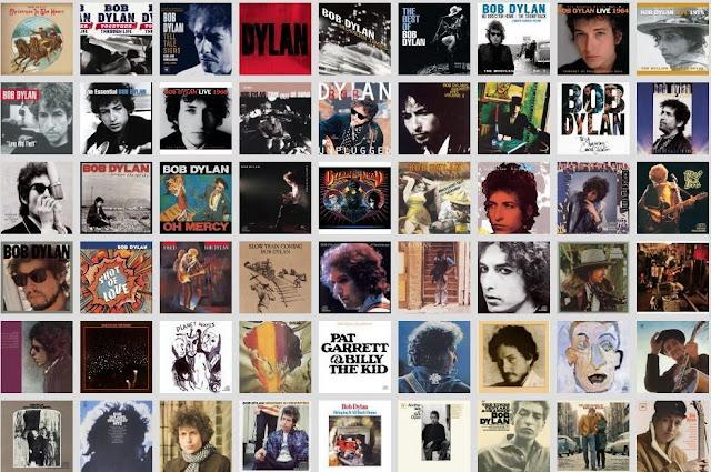 Capas de discos de Bob Dylan