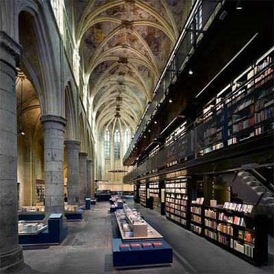 Selexyz Dominicanen, Maastricht, Holanda