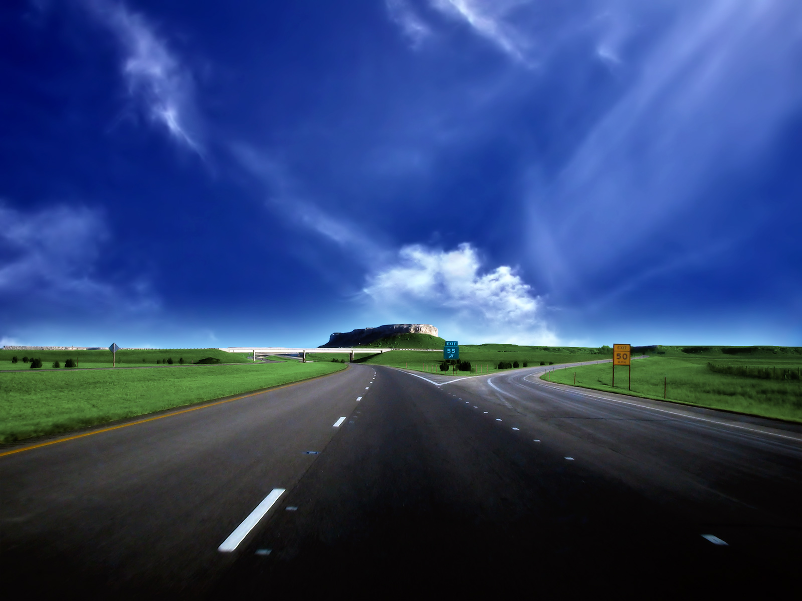 roads wallpapers HD 1600x1200 High Resolution Hd Nature Wallpapers