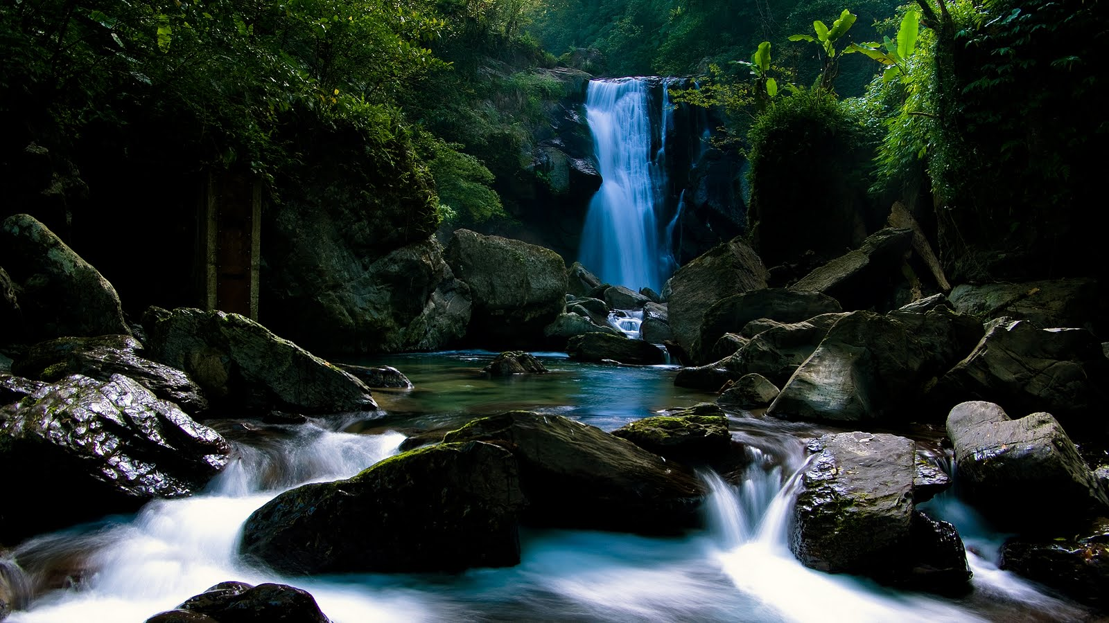 Wallpapers Box: Amazing Waterfall Widescreen High