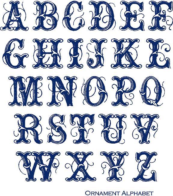 wordart monograms