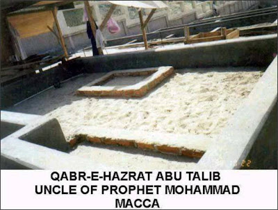 Hazrat Abu Taleb, Uncle of Prophet Mohammad (P.B.U.H), in Mecca.