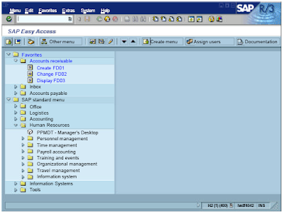 Topic 1: SAP Navigation - SAP ABAP HR Forum