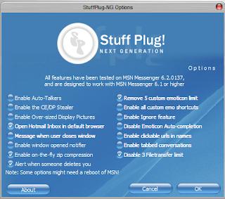 stuffplug ng