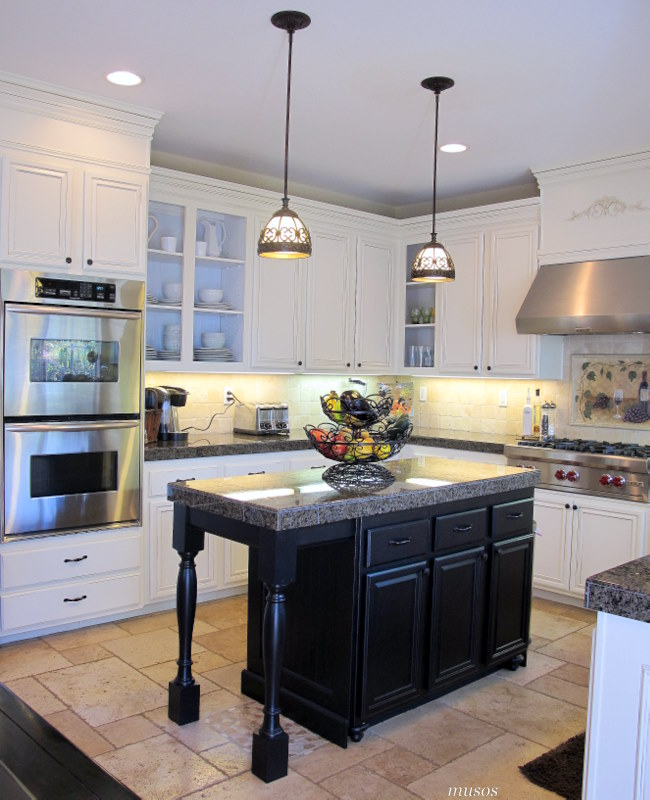 Kitchen Island Additions: Adding Height To Your Kitchen Cabinets