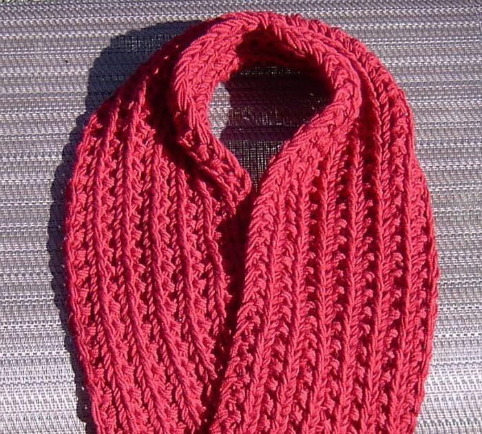 Otterwise: Easiest Farrow Rib Scarf Free Knitting Pattern