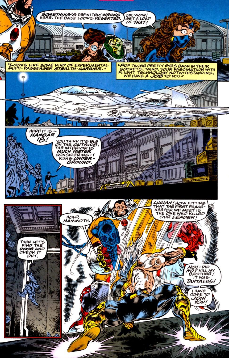 Read online Blackwulf comic -  Issue #2 - 15