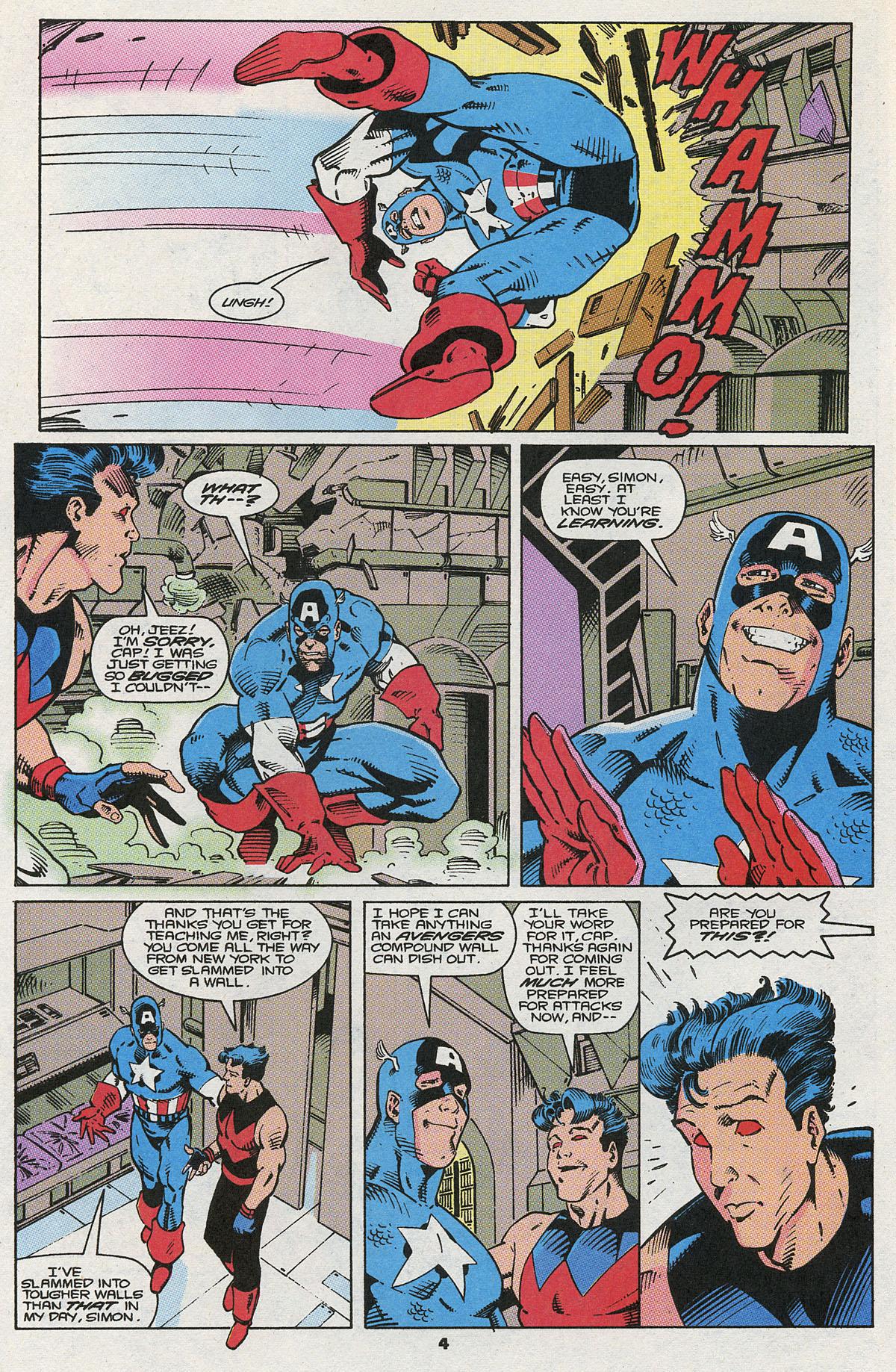 Read online Wonder Man (1991) comic -  Issue #5 - 5