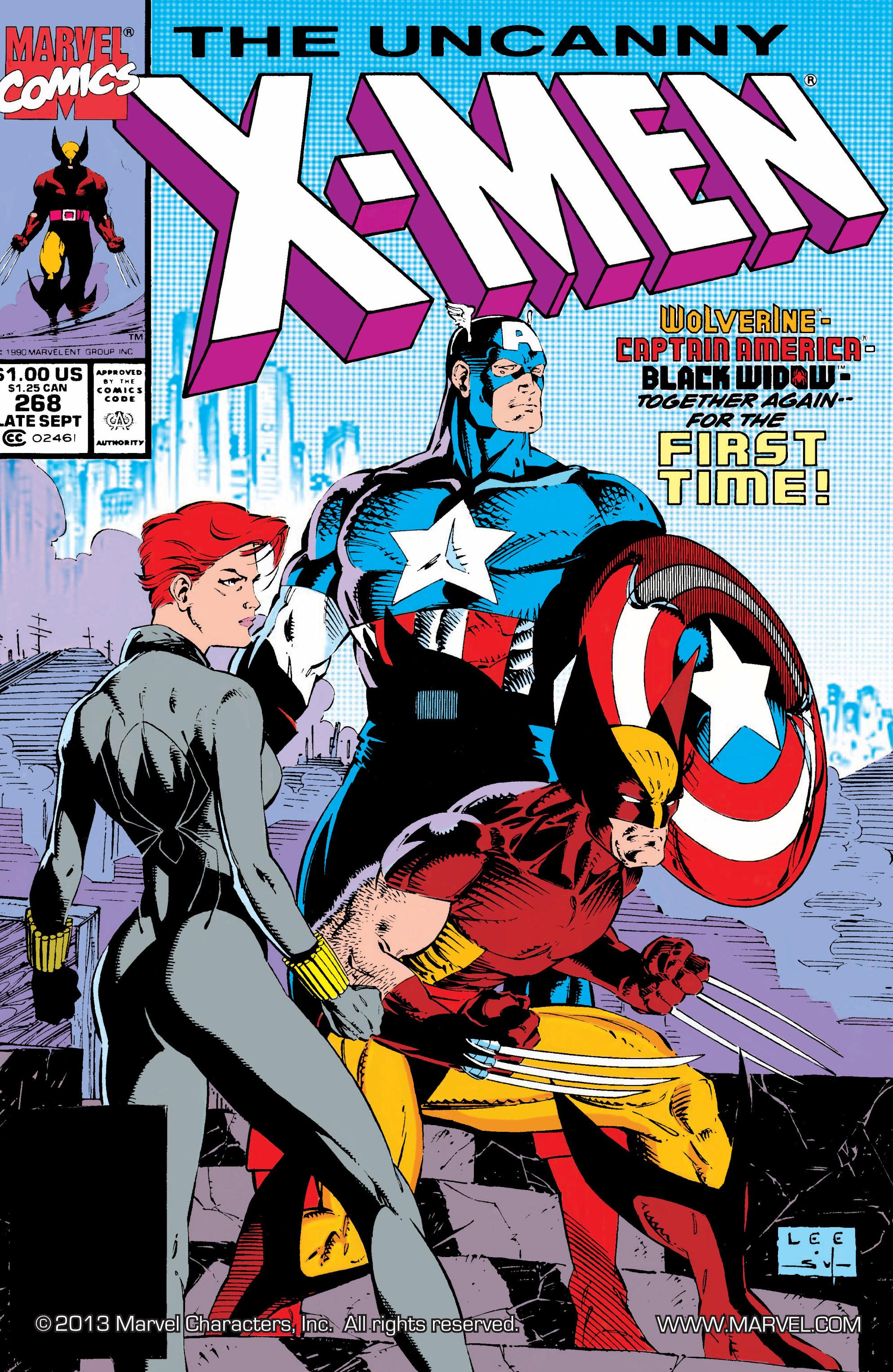 Read online Uncanny X-Men (1963) comic -  Issue #268 - 1