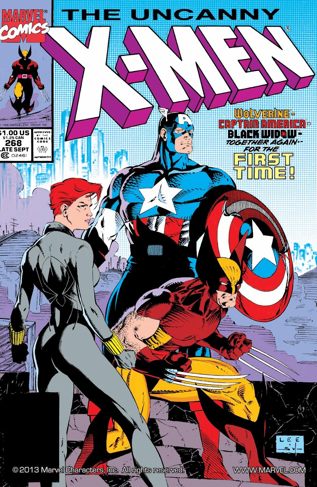 Uncanny X-Men (1963) issue 268 - Page 1