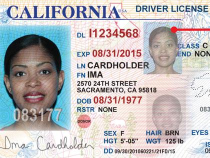 New California Driver License