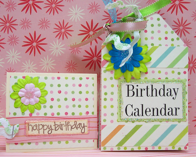Kids Scrapbooking Perpetual Birthday Calendar & Mini Card