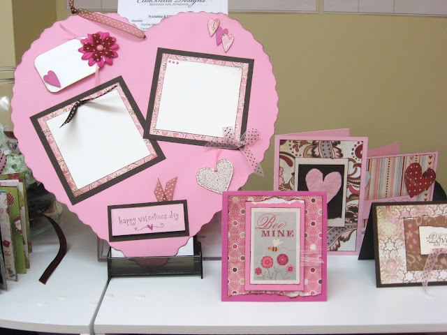 Kids Scrapbooking Giant Valentine Day Craft