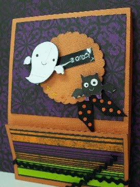 Kids Halloween Mini Scrapbook Album