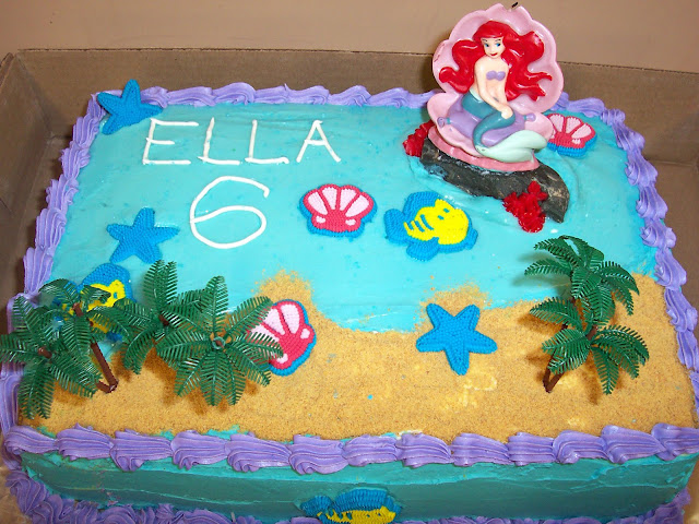 Ariel Mermaid Rainbow Birthday Party by Ellabella Designs