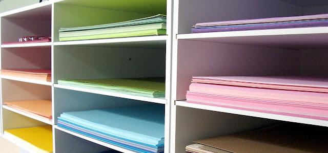 Scrapbooking Craft Storage Ideas