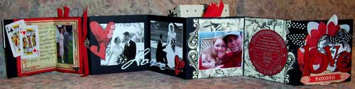 Valentine's Day Love Mini Scrapbook Album in a Box