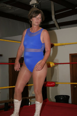 Wrestling ring redhead mature