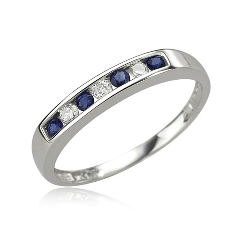 Labcreated Sapphire Ring