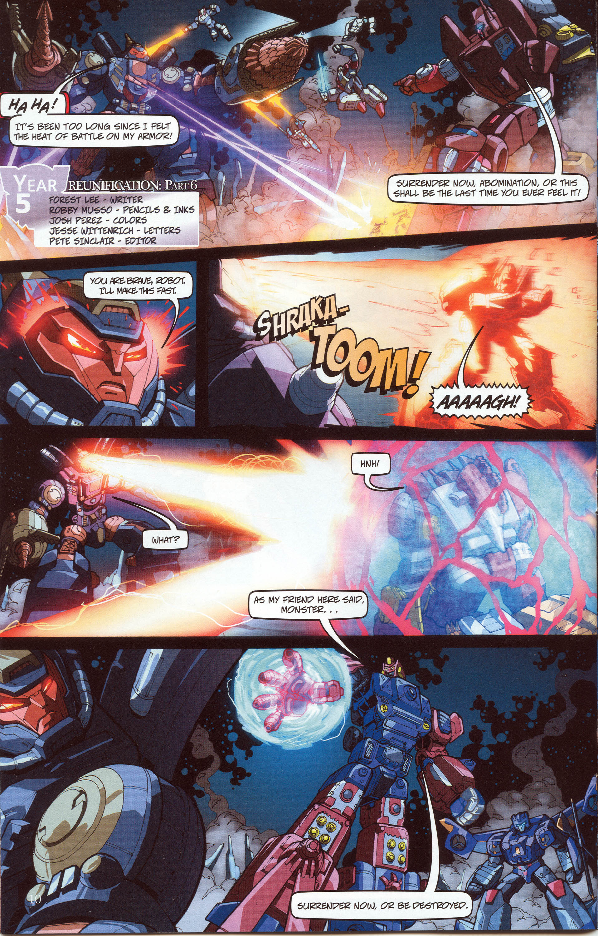 Read online Transformers: Collectors' Club comic -  Issue #30 - 10