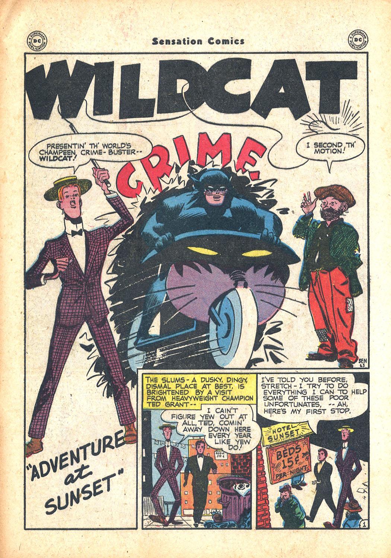 Read online Sensation (Mystery) Comics comic -  Issue #63 - 41