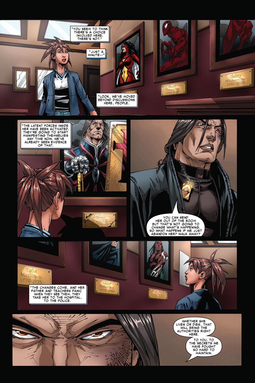 Read online Amazing Fantasy (2004) comic -  Issue #4 - 21