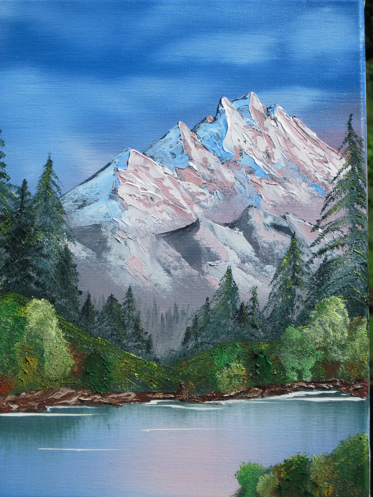 Image Result For Oil Painting Snow Mountains