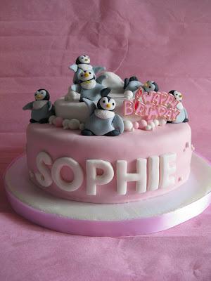 Cerita Dari Dapur Amatir Happy Feet Birthday Cake For Sophie