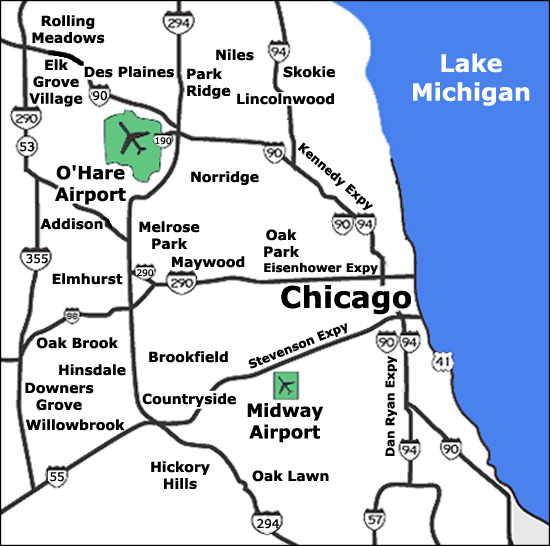 Chicago Limo Services O Hare Airport Transportation