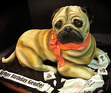 Do You Love Dogs Them So Much Wanna Eat Sounds Weird But Take A Look At These Delicious Cakes Shaped Like Puppies