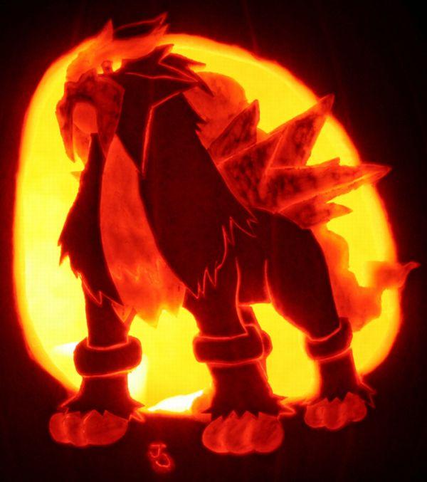 pokemon jack o lantern template - damn fresh pics cool pokemon pumpkins