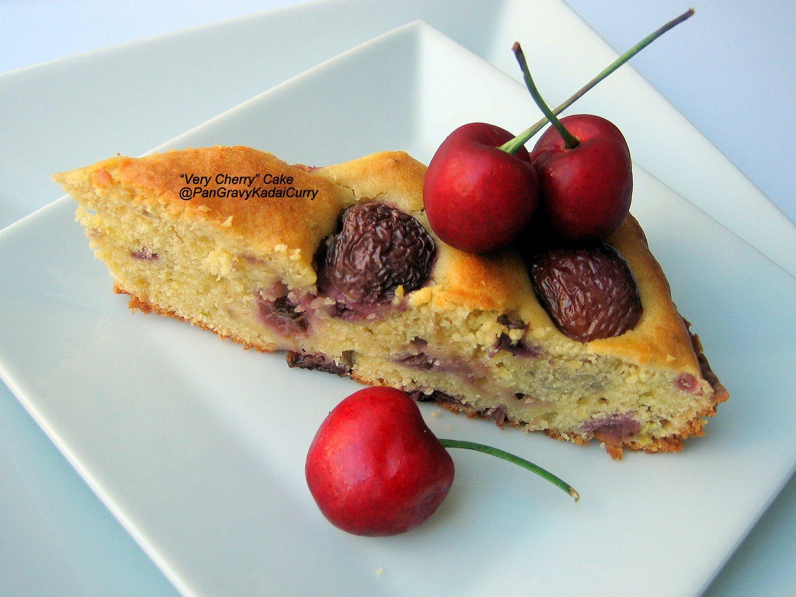 Egg Cake Recipe In Kadai: Pan Gravy Kadai Curry: RecipeReplica: Cherry-Cherry Cake
