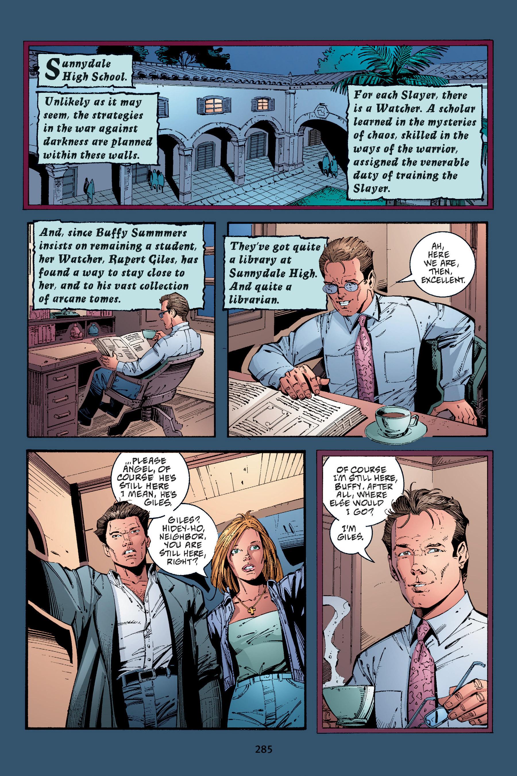 Read online Buffy the Vampire Slayer: Omnibus comic -  Issue # TPB 4 - 282