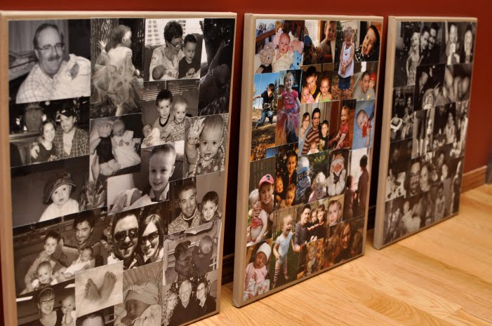 Simply Sara Photo Canvas Collages