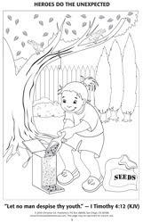 kjv bible verse coloring pages | VBS Tips: March 2010