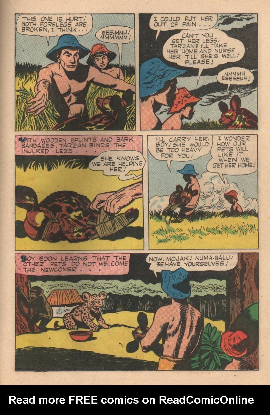 Tarzan (1948) issue 84 - Page 21