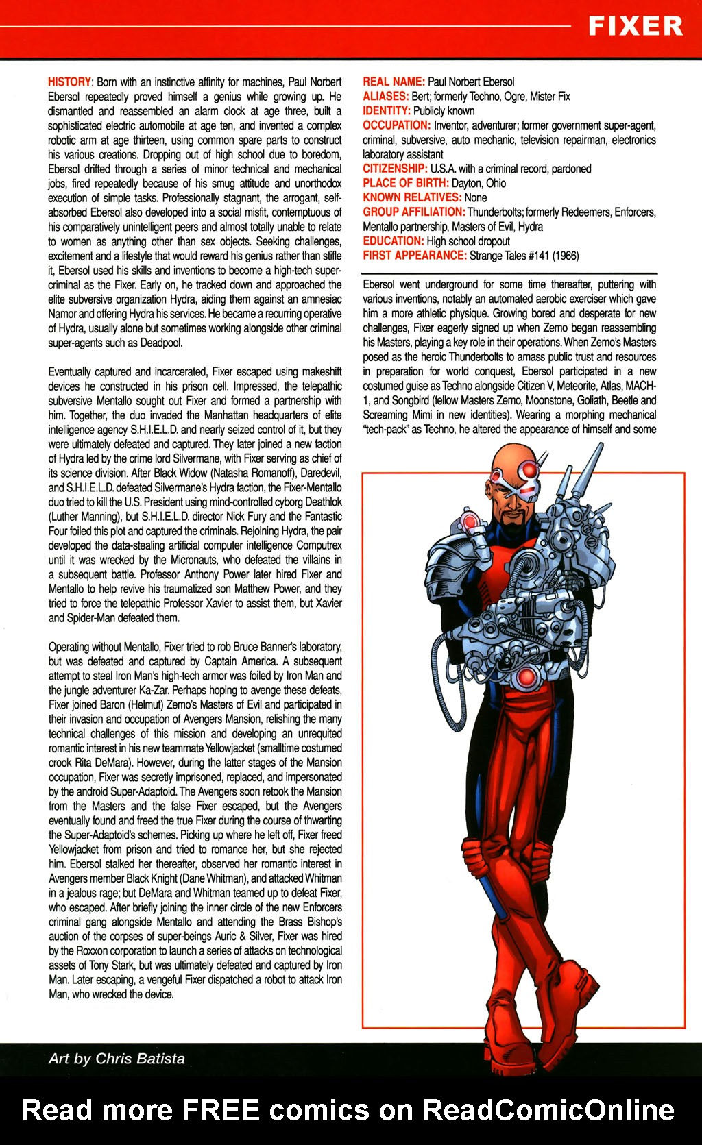 Read online All-New Official Handbook of the Marvel Universe A to Z comic -  Issue #4 - 35