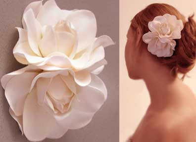 modelos de flores para cabelos