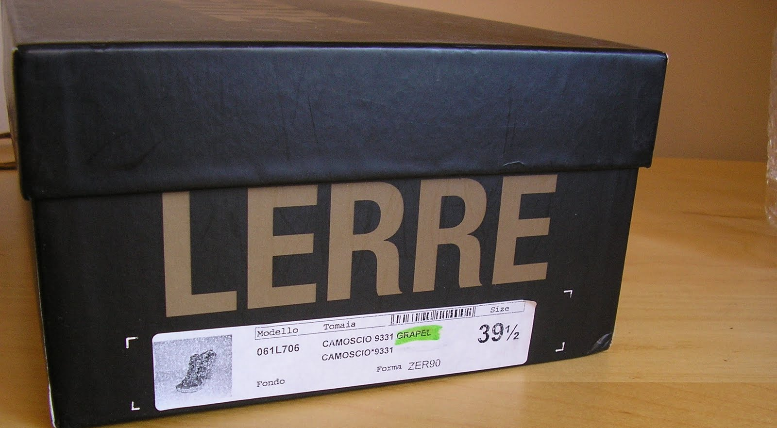 Lerre Shoes Size