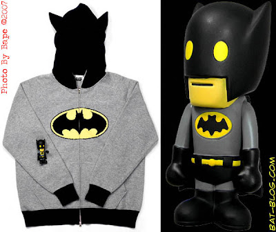 06fff9736efa Batman Designer Clothing  Hoodie   Action Figure Toy by BAPE ~ Nail ...