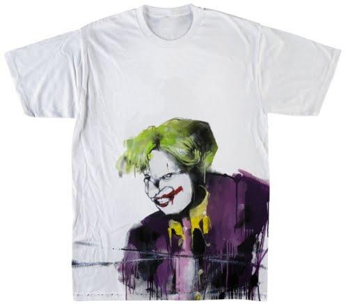 iMage T-Shirt Gotham Joker Batman Munch Film by Dress Your Style