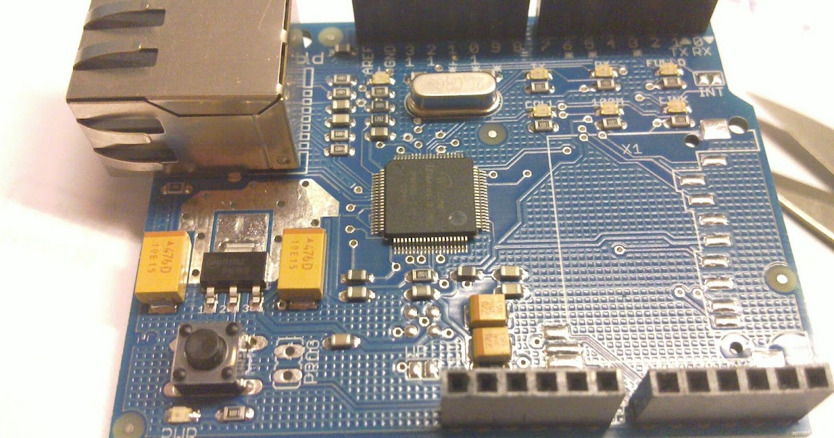 Only_Dead_Fish_Go_With_The_Flow: Arduino Wiznet ethernet