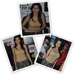 Sheryln Chopra hot in semi transparent wear