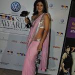 Shilpa Shetty hot sexy in pink saree at DNA Awards