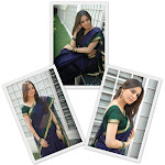 Hot Shraddha Arya in Saree Stills