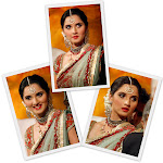 Sania Mirza in saree at her Reception