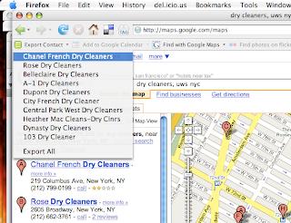 Official Google Maps API Blog: Microformats in Google Maps
