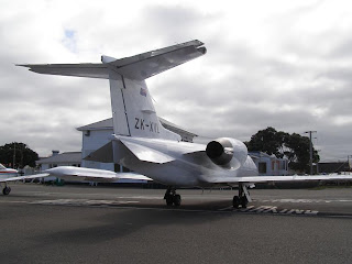 Auckland Air Charter, Learjet 35A, ZK-XVL